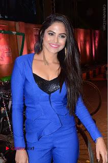 Actress Naina Ganguly Stills in Blue Dress at RGV Shiva to Vangaveeti Event  0029.JPG