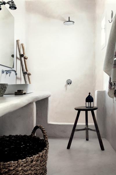 PUNTXET Hotel San Giorgio en Mykonos ¡Espectacular! #deco #decoracion #hogar #home #bathroom #baños #estilobohemio #bohemianstyle #travel #hotel