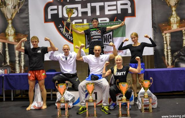 kickboxing, k-1, low kick, kick light, junior, senior, kadet, fight cup 5, pięć pucharów, sporty walk, Zielona Góra, najlepszy klub w mieście, 5 x złoto
