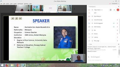 Pengalaman Kali Pertama Bentang Seminar Secara Online