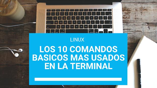 Los 10 comando más básicos de Linux en la terminal