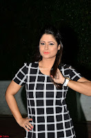 Shilpa Chakravarthy in Dark blue short tight dress At Srivalli Movie Pre Release Event ~  Exclusive Celebrities Galleries 046.JPG