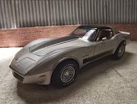 Corvette 1982 Collector's Vette Monogram 1/24