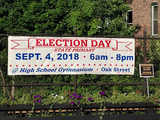 Vote today - Primary election