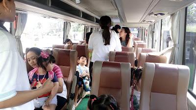 interior sewa bus