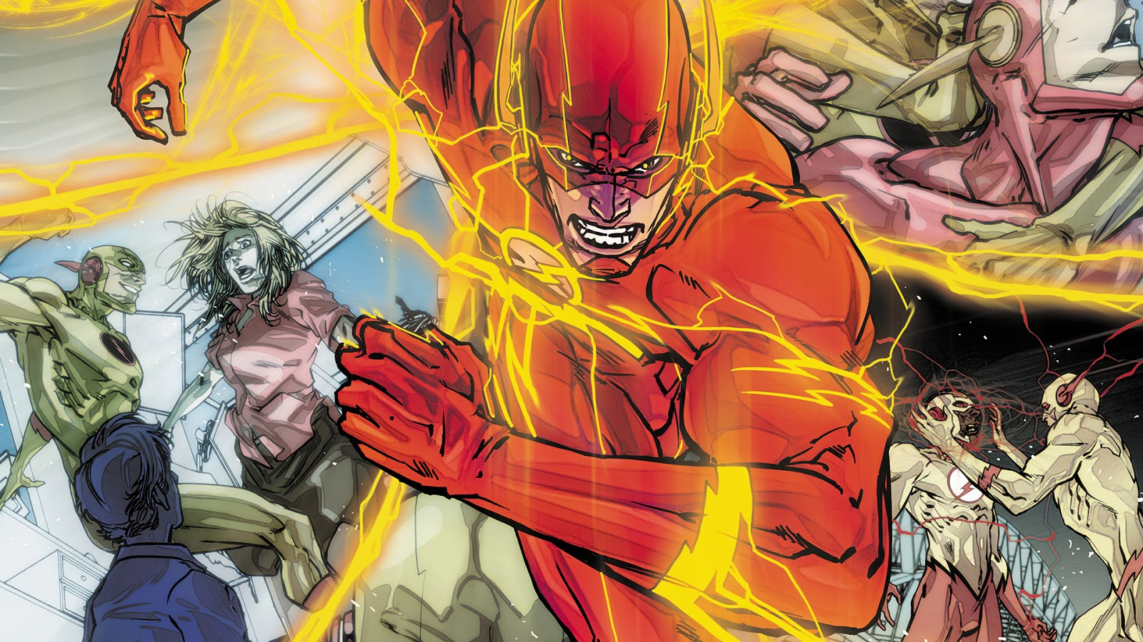 weird science dc comics the flash 25 review