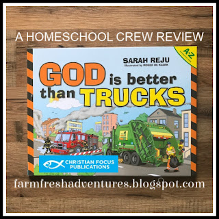 God is Better Than Trucks {Book Review}