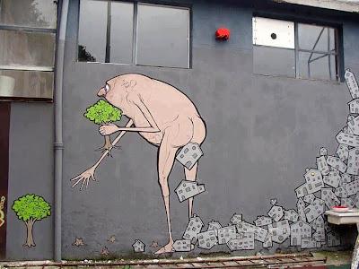 ingenioso arte urbano