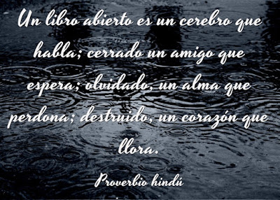 Proverbio Hindú (Frase celebre)