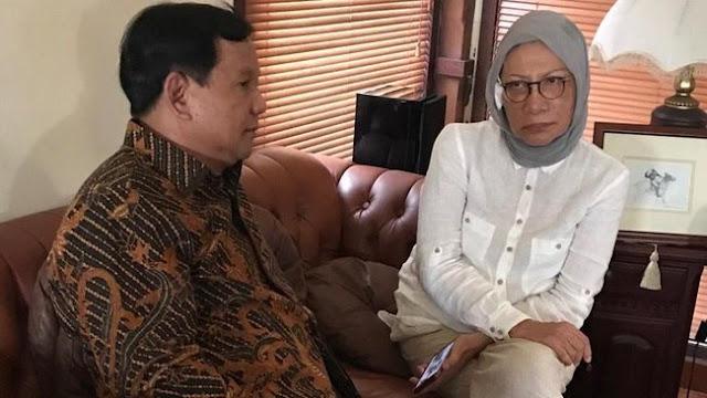 Begini Cerita Penganiayaan Ratna Sarumpaet yang Disampaikan ke Prabowo