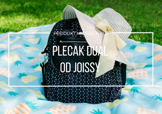 Plecak Dual od Joissy dla aktywnych rodziców - produkt miesiąca #06