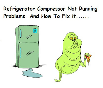 refrigerator compressor not running