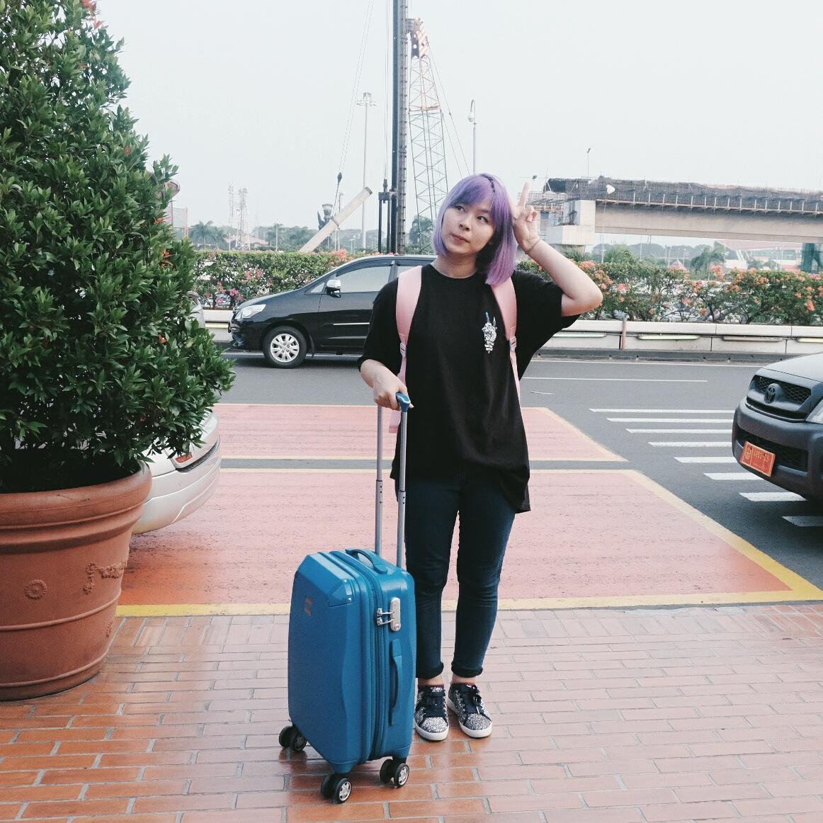 OOTD short escape to pontianak | www.bigdreamerblog.com