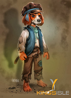 Pirate101 Marleybone Concept Art Orphan Dog