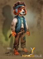 Pirate101 Marleybone Concept Art Orphan Dog