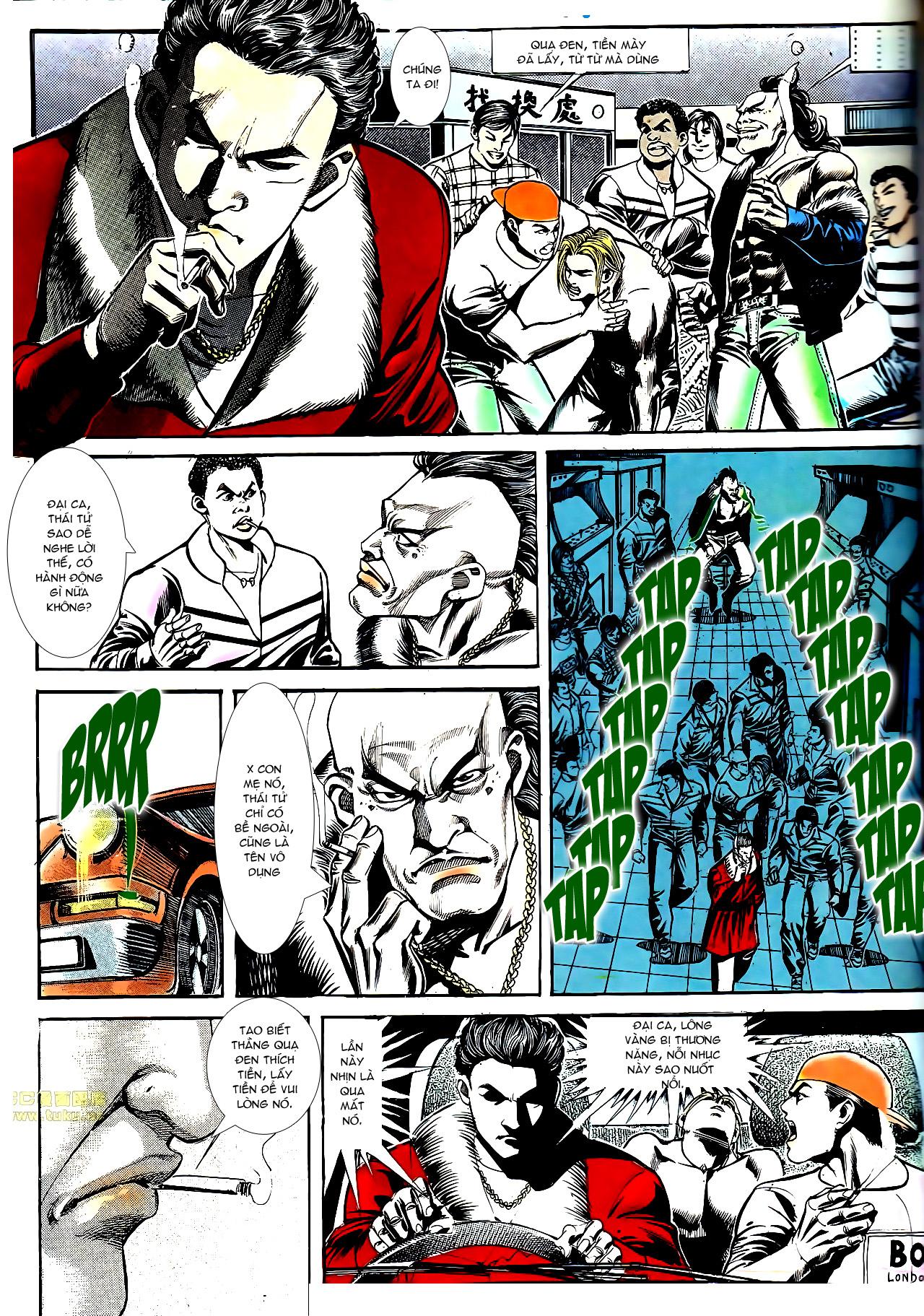 Người Trong Giang Hồ chapter 154: nam đẹp trai trang 14