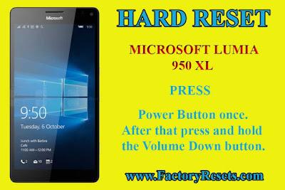HARD RESET Microsoft Lumia 950 XL