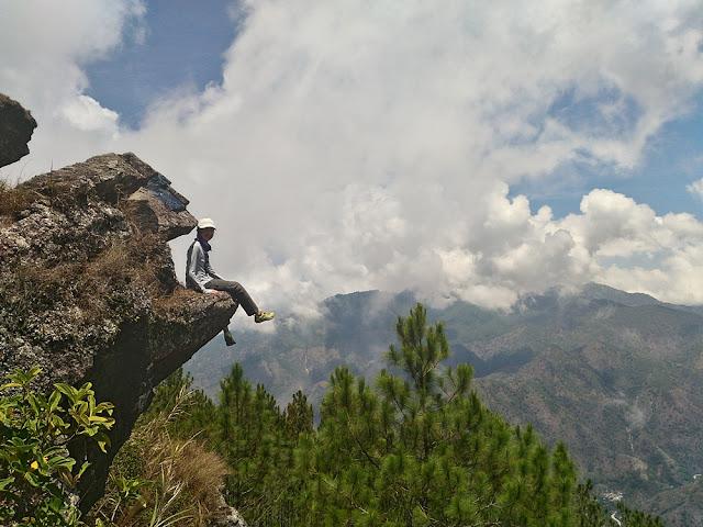 Charisse Vilchez in Mount Ulap