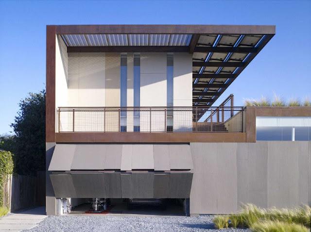 03 Yin-Yang House by Brooks + Scarpa Architects