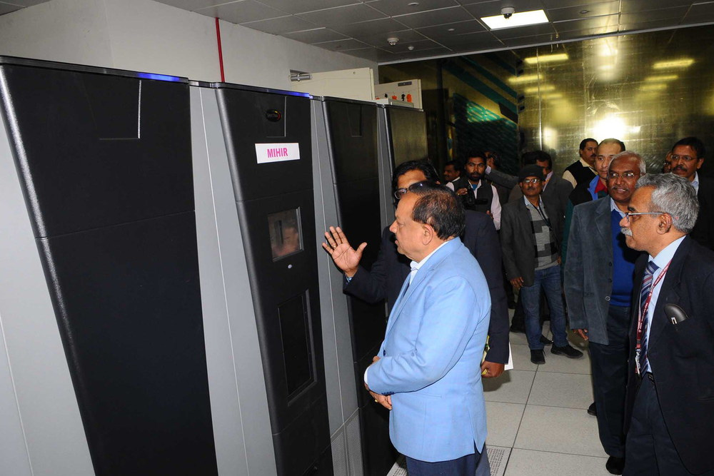 Indian Super Computer Mihir
