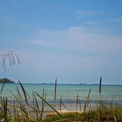 Berlibur ke Salah Satu Pantai Tersembunyi di Pulau Galang - Batam