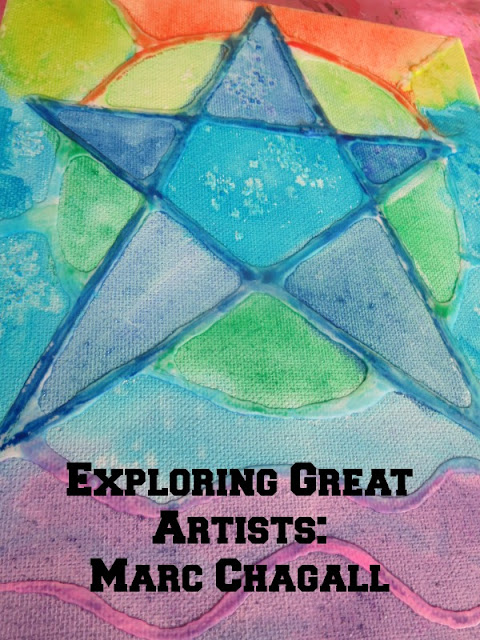 Great artists for kids: Marc Chagall Project