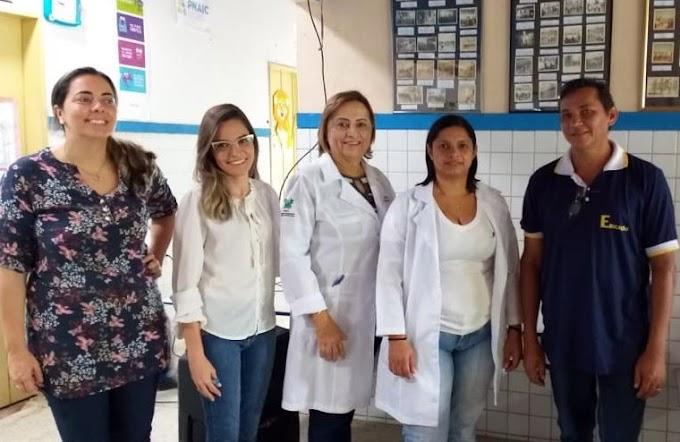 Foco e determinação: 4ª DRAE presente nas escolas da região.
