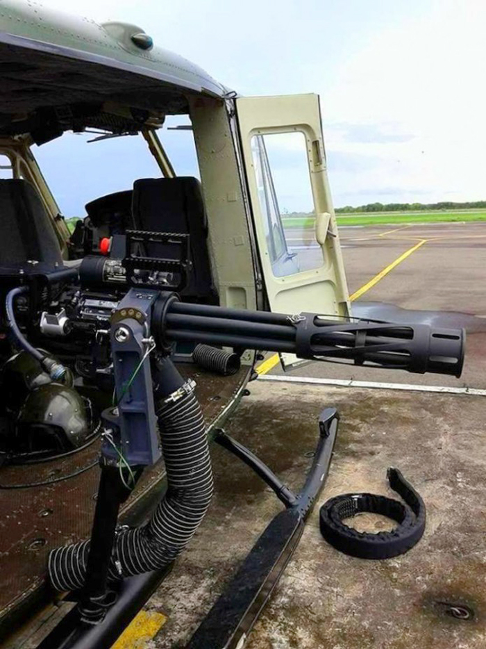Minigun M134D