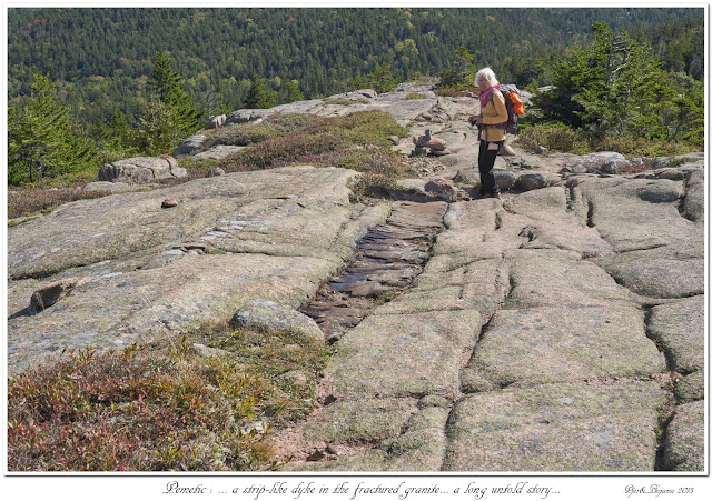Pemetic: ... a strip-like dyke in the fractured granite... a long untold story...