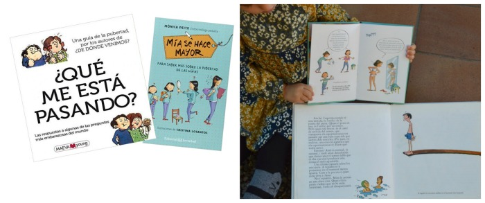 los mejores libros informativos para niños, libros conocimientos pubertad, sexualidad, adolescencia