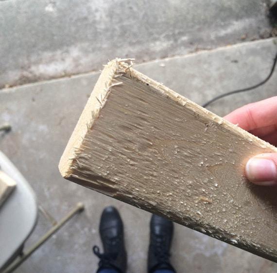 Giant Jenga DIY tutorial
