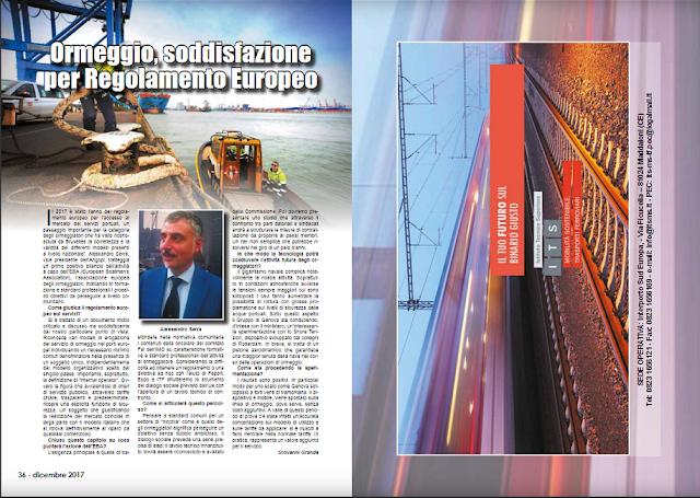DIC 2017 PAG 36 - Ormeggio, soddisfazione  per Regolamento Europeo