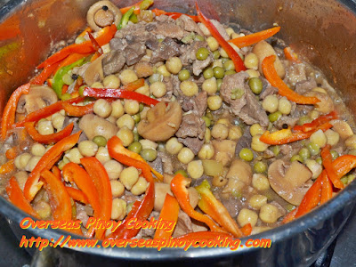 Igado with Pineapple and Mushroom - Cooking Procedure