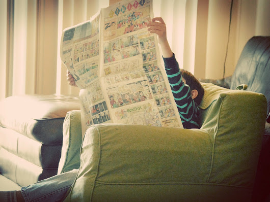 Sunday Morning Reader ~ 3003 Willow