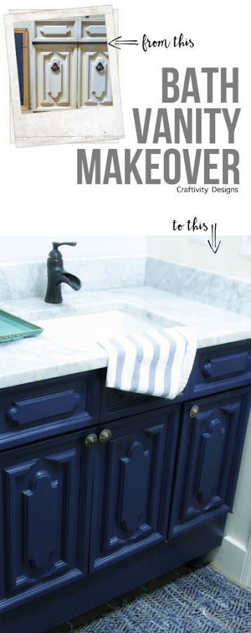 raising a bathroom vanity