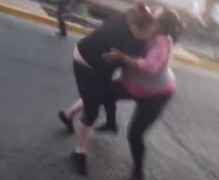 Pelea de peso completo en Tijuana