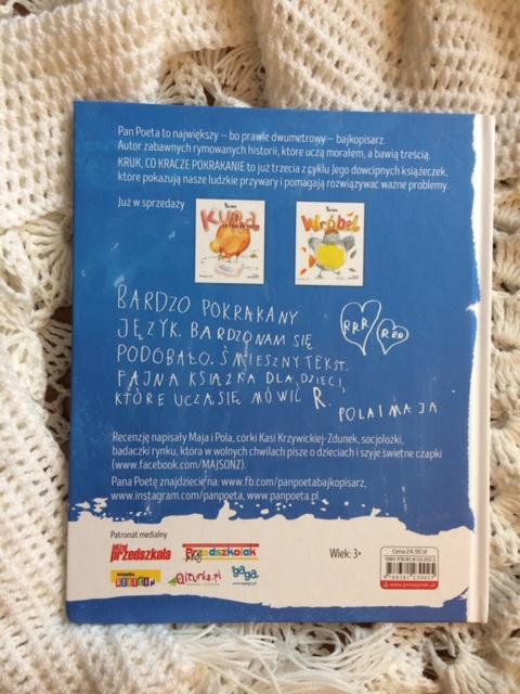 """""""Kruk, co kracze pokrakanie"""" - propozycja książki dla dzieci"""