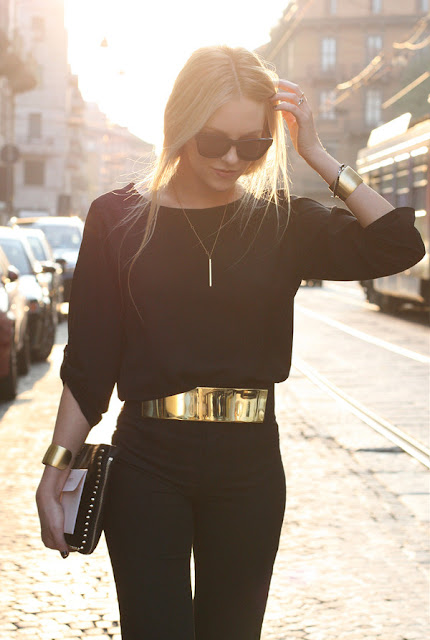 metal gold belt, women fashion, women accessories that must have