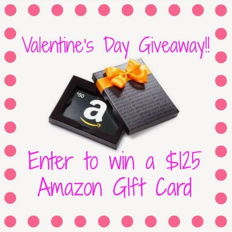 $125 Amazon Gift Card Giveaway!!