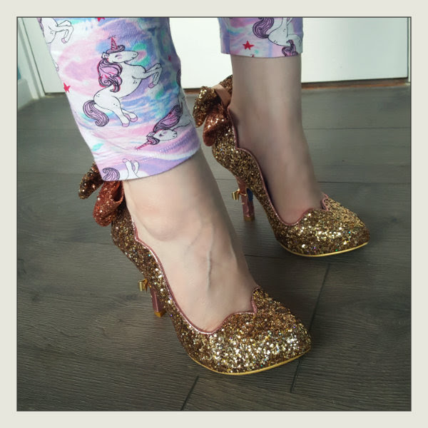 wearing cinderella irregular choice gracious dreamer