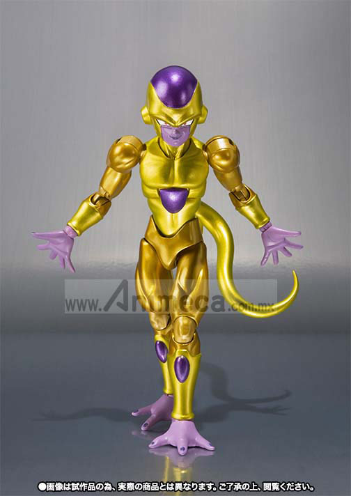 GOLDEN FRIEZA S.H.Figuarts FIGURE Dragon Ball Z Fukkatsu no F BANDAI