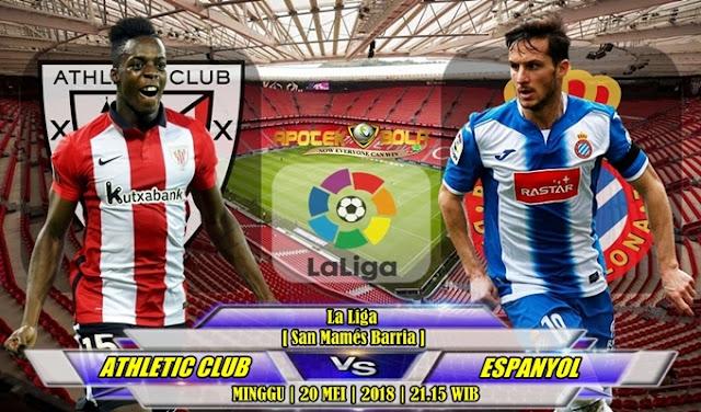 Prediksi Athletic Bilbao vs Espanyol 20 Mei 2018