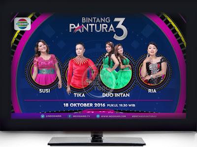 Susi, Tika, Duo Intan, dan Ria Bintang Pantura 3 Babak 4 Besar Selasa 18 Oktober 2016