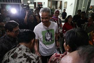 Gubernur Provinsi Jawa Tengah Pamit Cuti