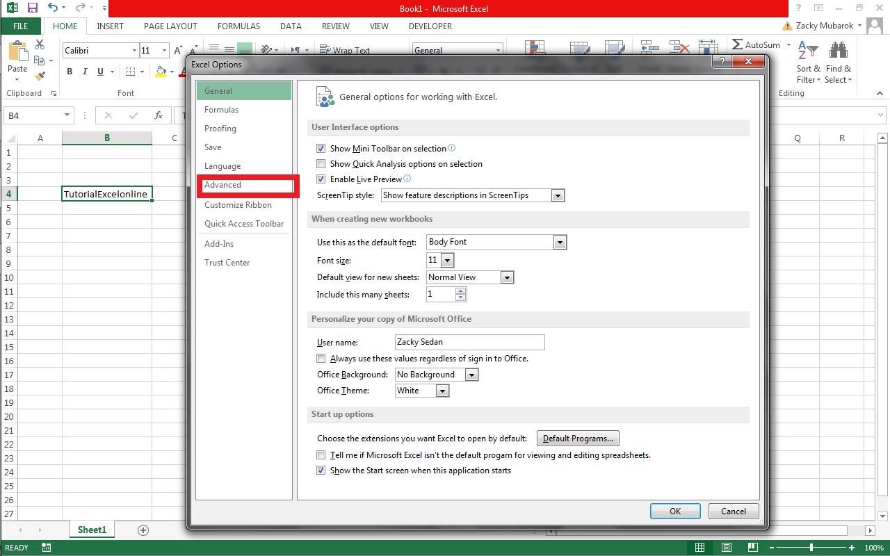 Cara Mengatasi Error Cell Drag And Drop Pada Excel