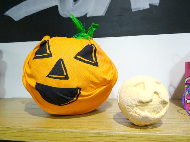 It's Halloween with Lush