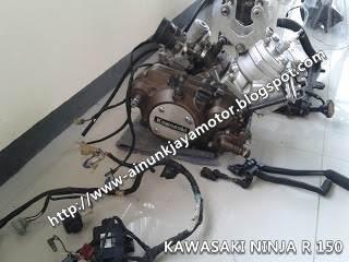 mesin motor gelondongan kawasaki ninja