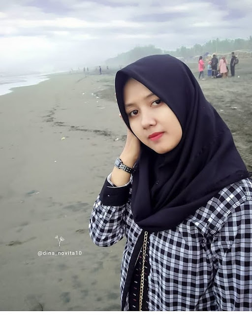 Beautiful Widow with Hijab