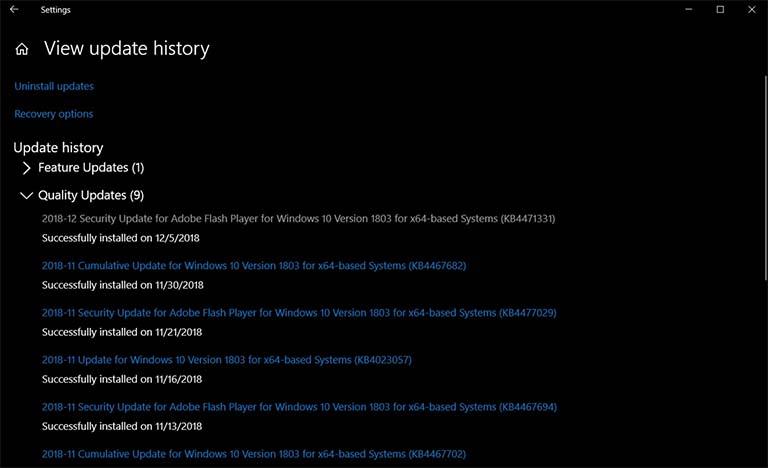 Pembaruan Adobe Flash Player KB4471331 Dirilis Untuk Windows 10