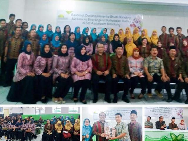 SD Kemala Bhayangkari Kaltim Studi Banding  ke SD Assalam Bandung